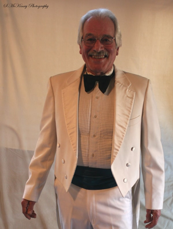 Image of Christopher Saam in White Tux