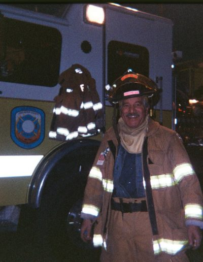 Volunteer Fire Fighter Retired