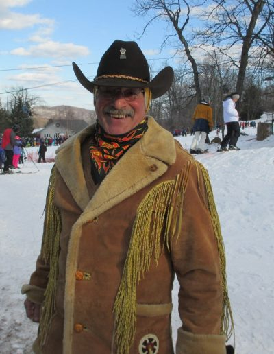 Cowboy Skier, You dress like this You Better Ski Good